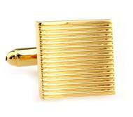 Gold Square Cufflinks (V-CF-M50174-G)
