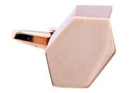 Geometric Rose Gold Cufflinks (V-CF-67559-RG)