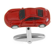 X-Large Red Sport Car Cufflinks (V-CF-71075)
