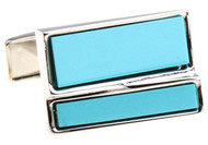 Genuine Turquoise Cufflinks (V-CF-G527BL)