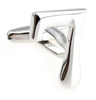 Number 7 Cufflinks - Choose 2nd Number(V-CF-M454S)