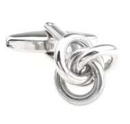 Small Love Knots Cufflinks (V-CF-M56535S)