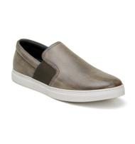 Belvedere Calf Leather Slip-On Casual Shoe - Bronze