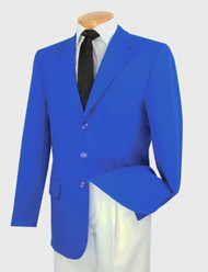 Lucci 3-Button Royal Blue Blazer