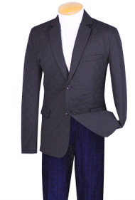 Vinci Blue Quilted Sportcoat