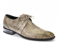 Mauri Genuine Hand Painted Light Sand Alligator Dress Shoe