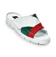 Mauri Genuine Crocodile Italian Sandal