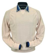 Peru Unlimited Baby Alpaca and Wool Sweatshirt Sweater - Vanilla