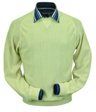 Peru Unlimited Baby Alpaca and Wool Sweatshirt Sweater - Lime Green