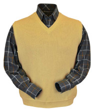 Peru Unlimited Baby Alpaca and Wool Vest - Gold