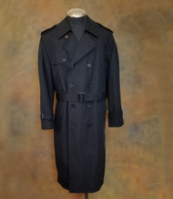 Anchor Uniform Black All Weather Overcoat - Removable Liner