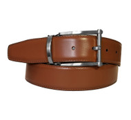 Marco Valentino 35mm Reversible Leather Belt - Chrome Buckle