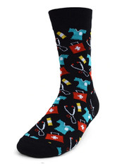 Parquet Men's Medical Nurse or Doctor Novelty Socks