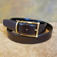 Marco Valentino 35mm Reversible Black/Brown Leather Belt