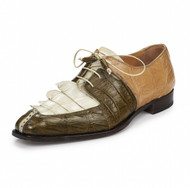 Mauri Genuine Hornback and Crocodile Multi Color Shoe