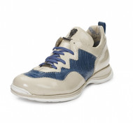 Mauri Genuine Ostrich Leg and Patent Leather Sneakers