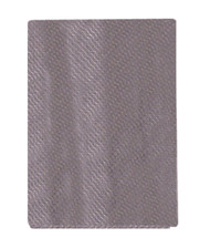 100% Woven Silk Pocket Square - Light Purple Weave  12 x 12in
