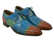Mauri Genuine Alligator Multi-Color Dress Shoe