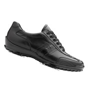 Belvedere Genuine Caiman and Italian Calf  Sneakers - Black