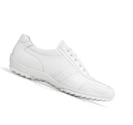 Belvedere Genuine Caiman and Italian Calf  Sneakers - White