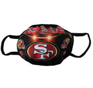 Adult Face Covering Mask - San Francisco 49ers