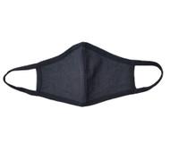 Adult - Cotton Face Covering Mask - Dark Denim