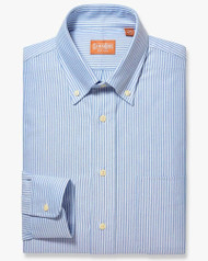 Blue Oxford Stripe
