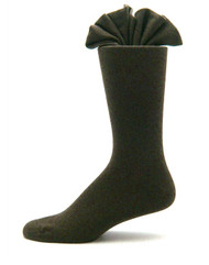 Antonio Ricci Premium Cotton Mid-Calf Dress Socks - Olive