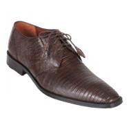 Los Altos Genuine Teju Lizard Dress Shoe - Brown