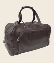 Piel Deluxe Leather Weekend Duffel Bag