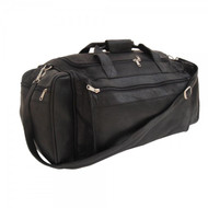 Piel X-Large Leather Duffle Bag