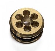 6 Hole IVG - Brass