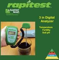 Rapitest / Luster Leaf Digital 3 way Soil Analyzer