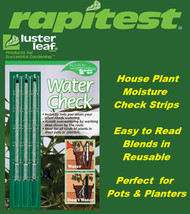 Rapitest / Luster Leaf House Plant Moisture Water Check Strips