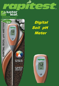 Rapitest / Lusterleaf Digital pH Soil, Plant and Garden Tester