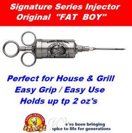 "Cajun Injector ""FAT BOY"" Meat Marinade seasoning Injector for BBQ Grilling Meats"