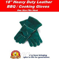 Cajun Injector Deep Fryer / BBQ Leather Gloves