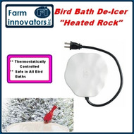 "'The Heated Rock""  Universial Bird Bath De-Icer / Heating Stone"