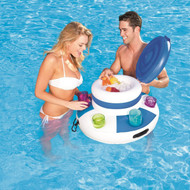 POOL / LAKE FLOATING INFLATABLE BEVERAGE COOLER