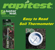 Rapitest / Luster Leaf Dial Soil Thermometer