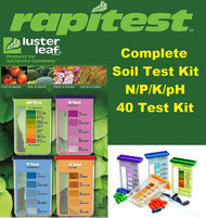Rapitest / Luster Leaf  Soil lawn & Plant Test Kit --N. P, K, Ph