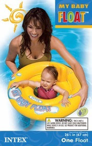 INTEX SWIMMING POOL CHILD BABY SEAT FLOAT RAFT