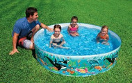 Deluxe Ocean Reef Backyard Snap together Pool