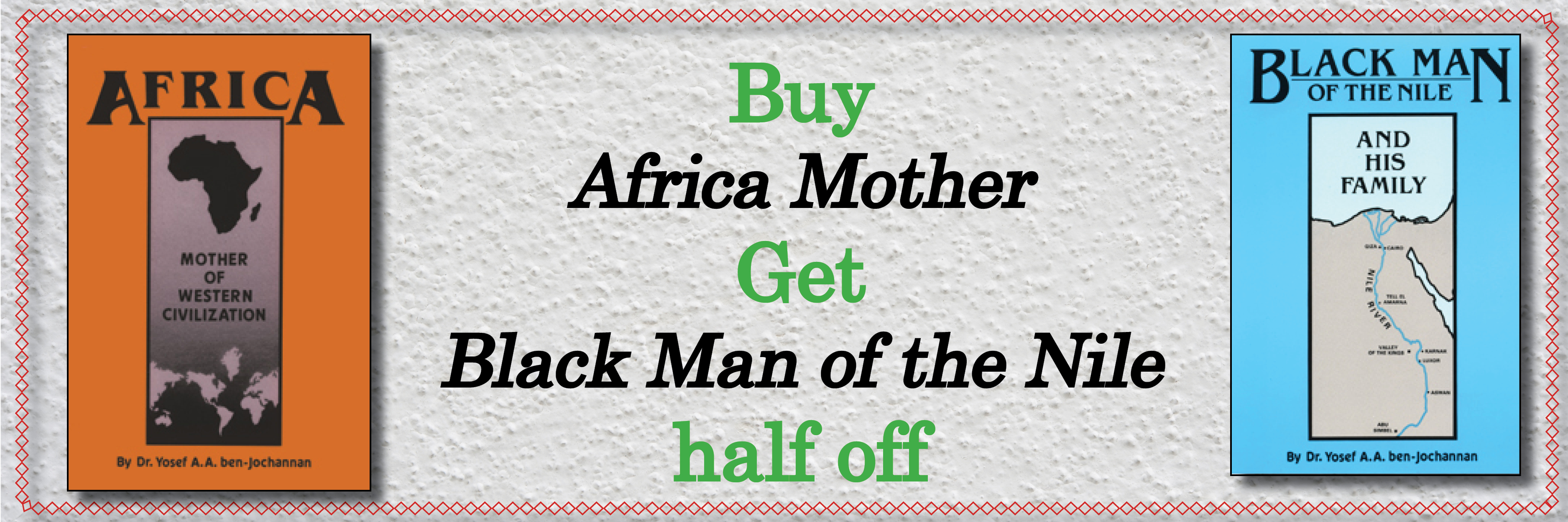 Buy Africa Mother get Black Man half off