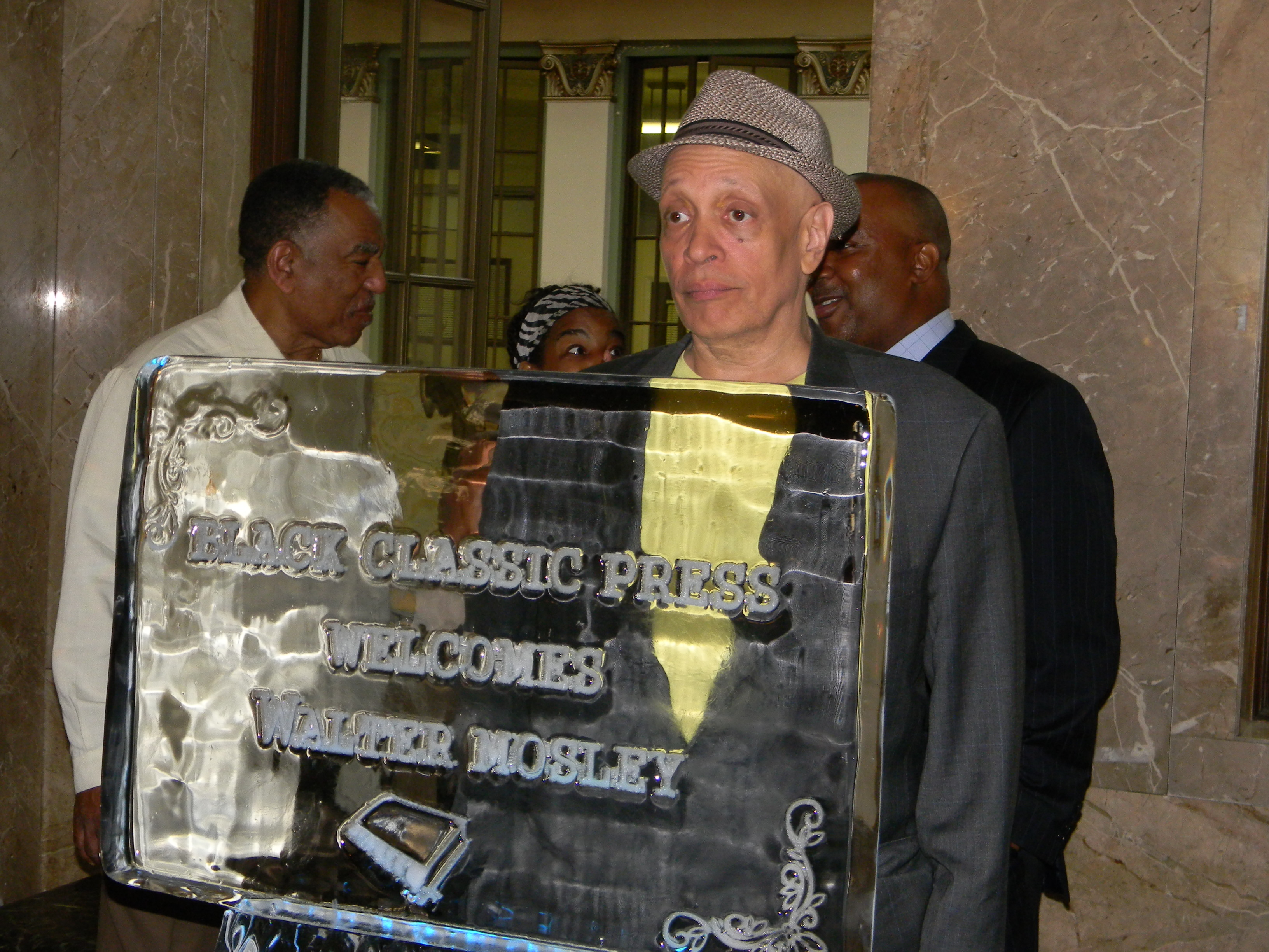 Walter Mosley at Black Classic Press 35th Annivesary