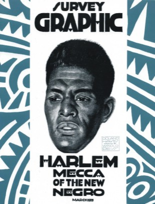 Front cover: Survey Graphic (March 1925), Harlem Mecca of the New Negro