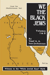 Front cover: We the Black Jews