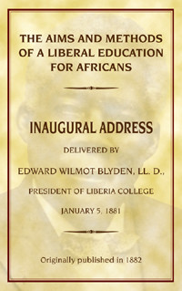 Front cover: The Aims and Methods of a Liberal Education for Africans