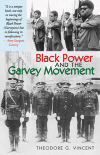 Front cover: Black Power and the Garvey Movement