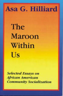 Front cover: The Maroon Within Us